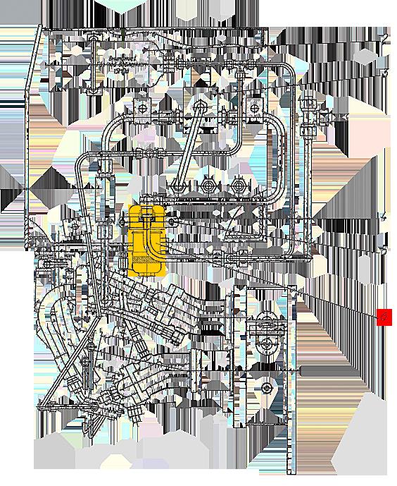 Фильтр гидросистемы управления ЭО-33211
