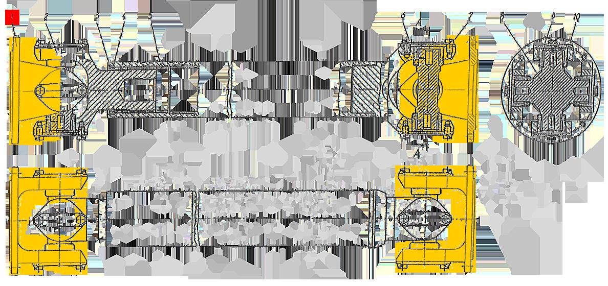 Фланец карданного вала ЭО-33211
