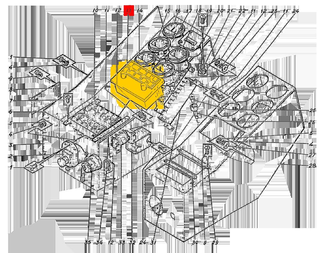 Блок индикации БИС-М-2-00