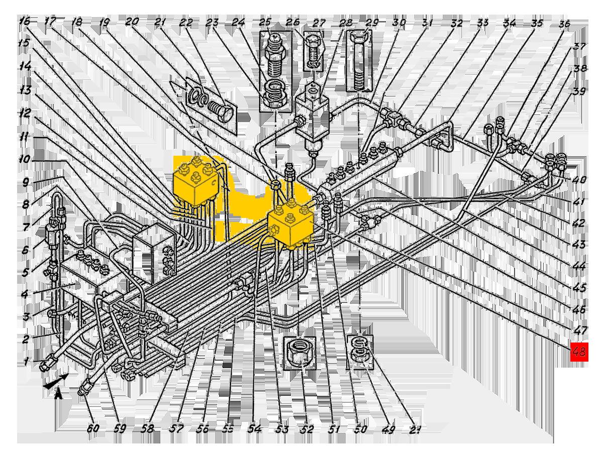 Блок клапанов ЭО-5122.04.16.000сб
