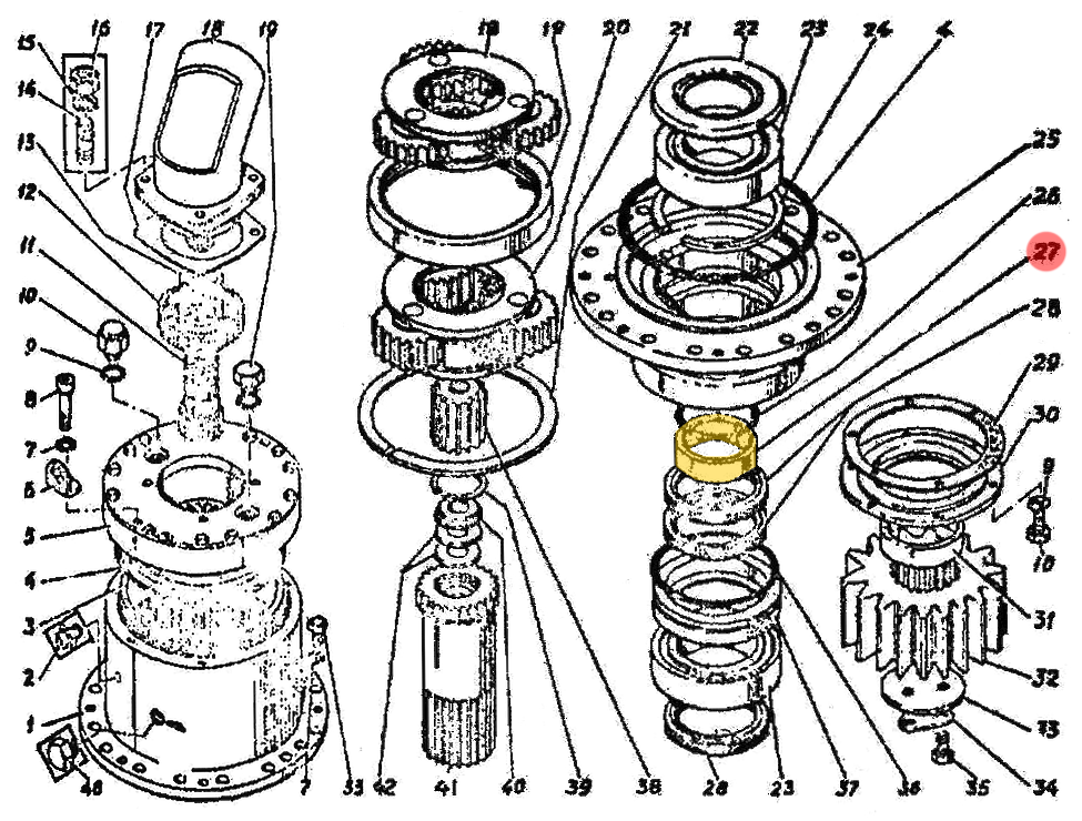 Втулка Э4.03.01.006сб