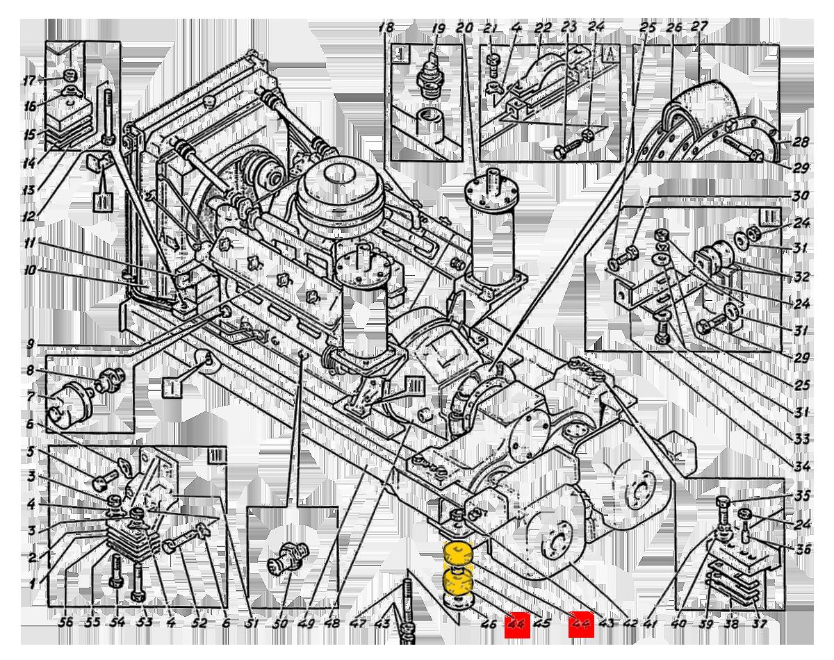 Втулка ЭО-5122.11.20.008-1А