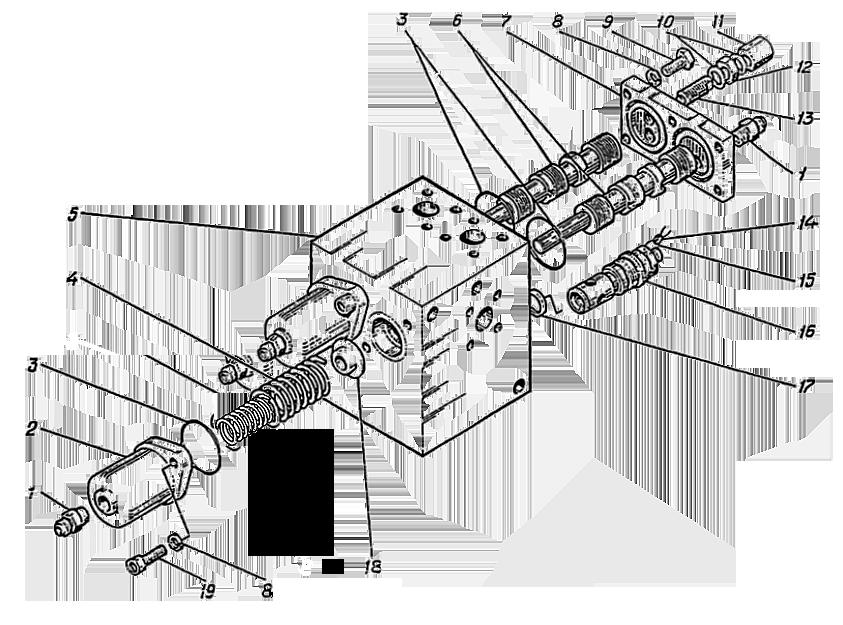 Гидроаппарат регулирующий Э4.09.06.000сб