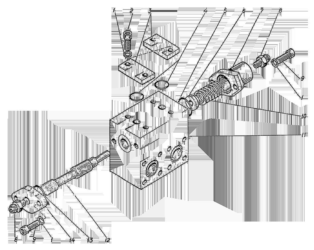 Золотник тормозной ЭО-5221.09.17.250сб