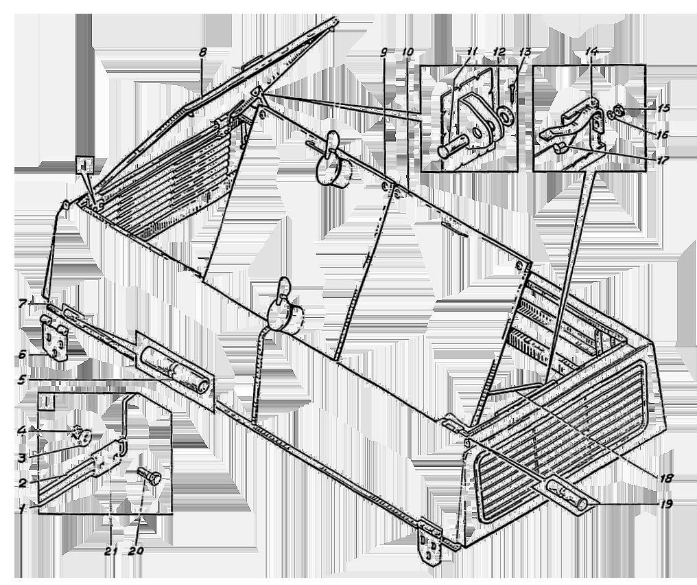 Капот силовой установки ЭО-5126.10.01.000сб