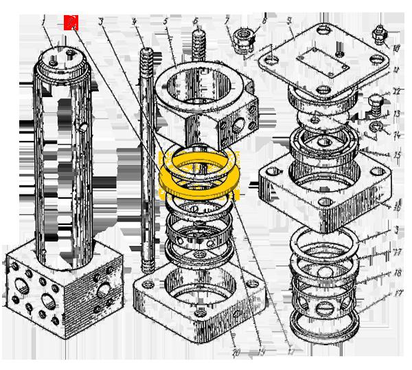 Кольцо У4760.08.005