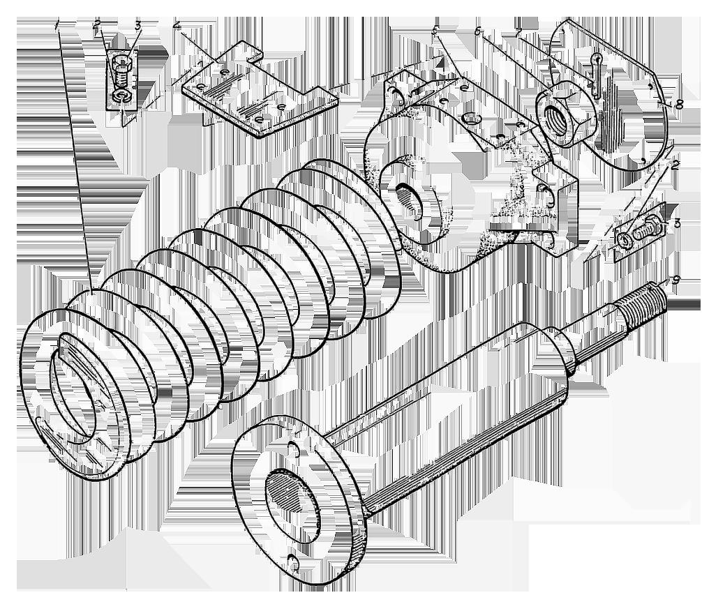 Механизм сдавливания ЭО-5221.01.10.500сб