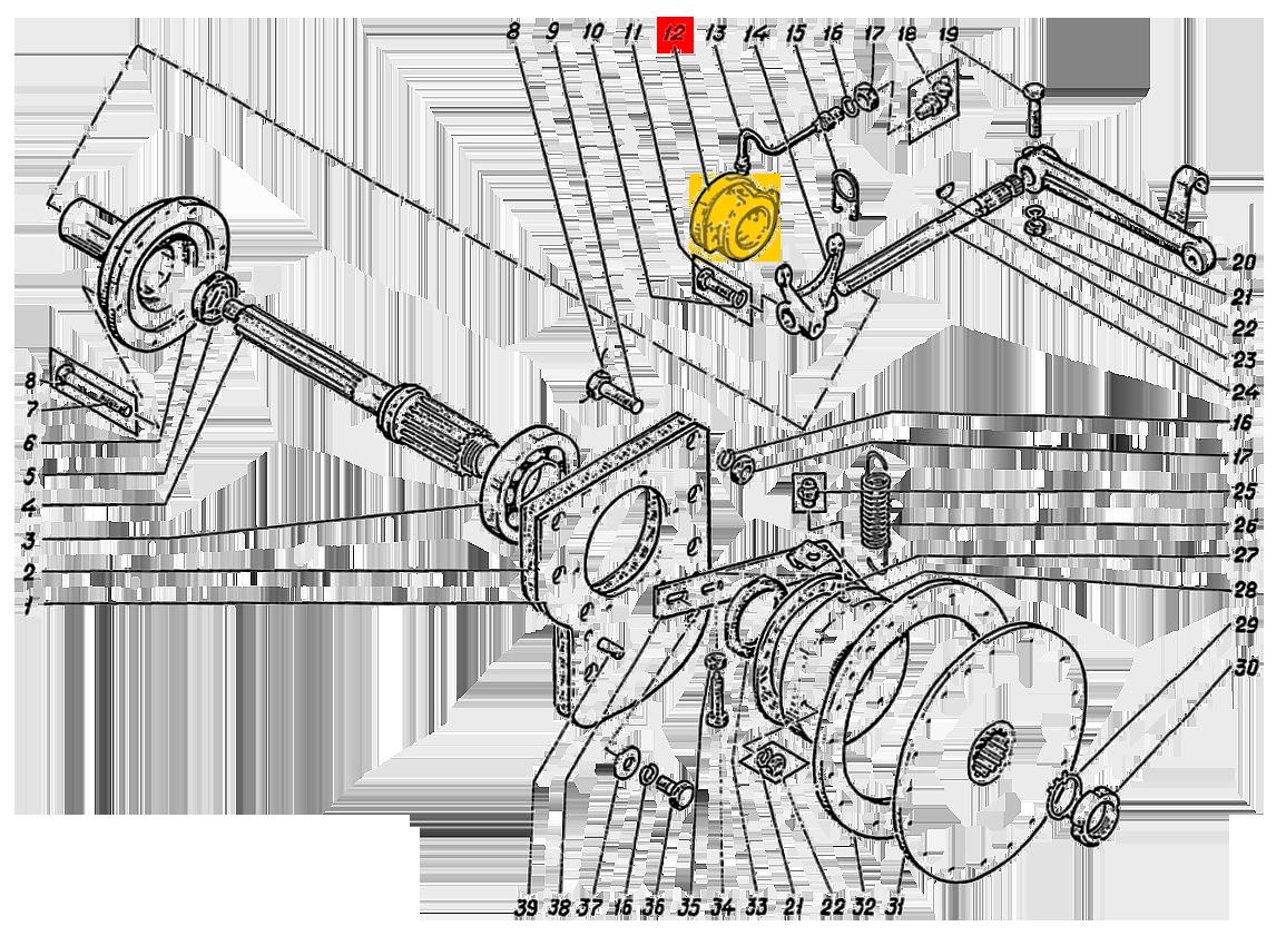 Муфта включения сцепления 236-1601180-Б2