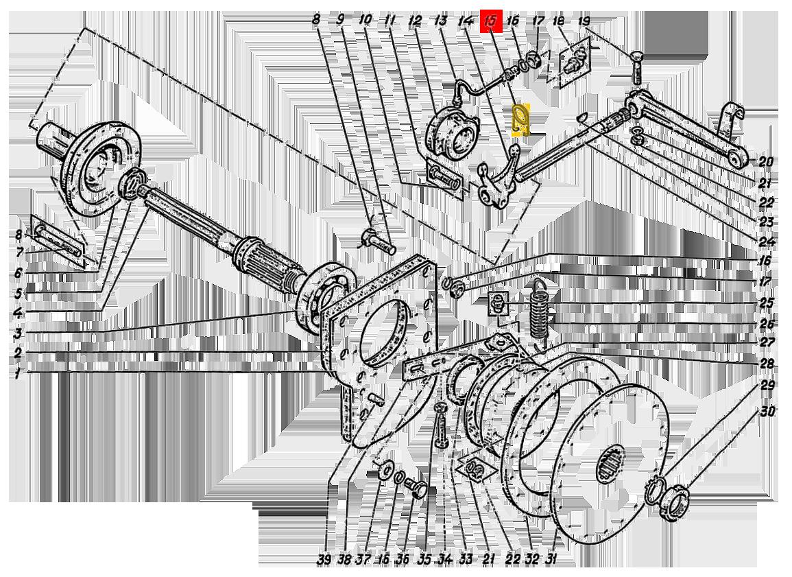Пружина муфты включения сцепления 236-1601188-А2