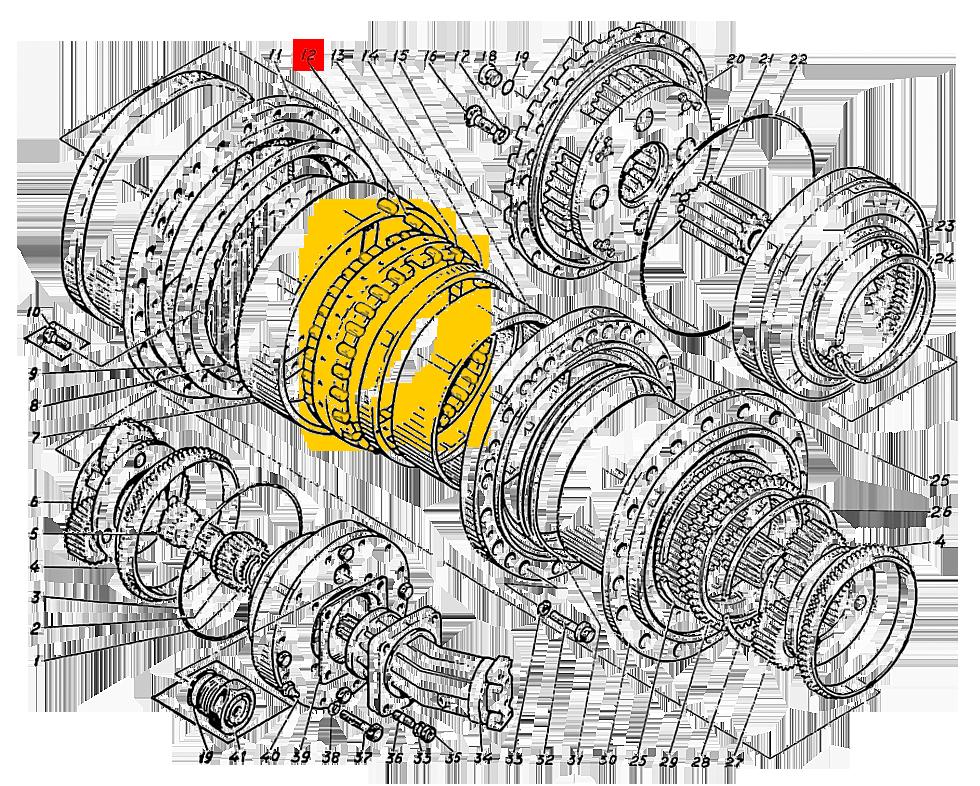 Ролик 25,4х40 ЕТУ 500