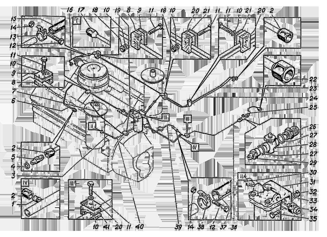 Система топливная Э4.11.21.000сб