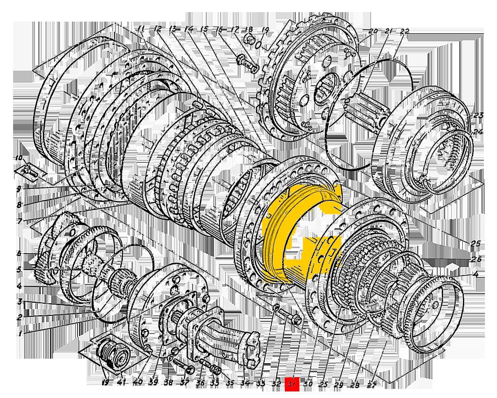 Уплотнение ЭО-5221.01.17.400