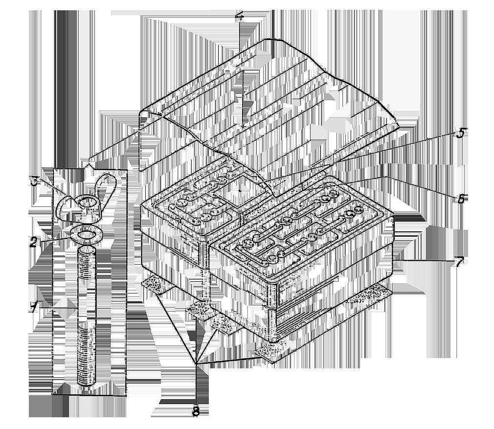 Установка аккумуляторов ЭО-5122.12.01.000-2сб