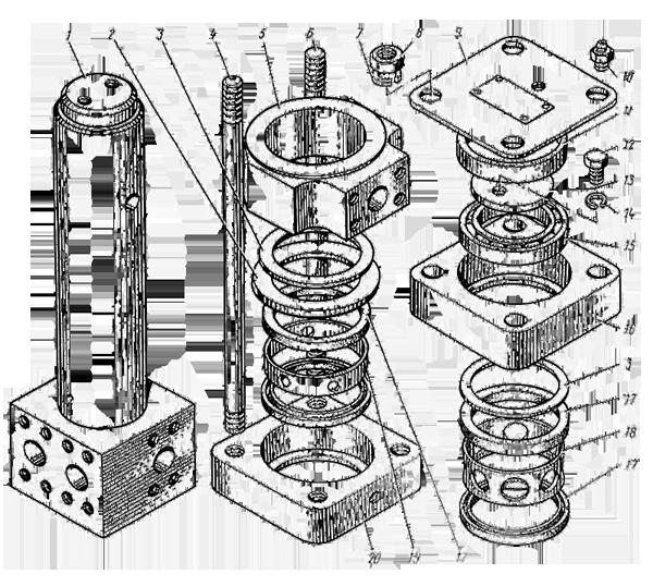 Центральный коллектор У4760.08.000