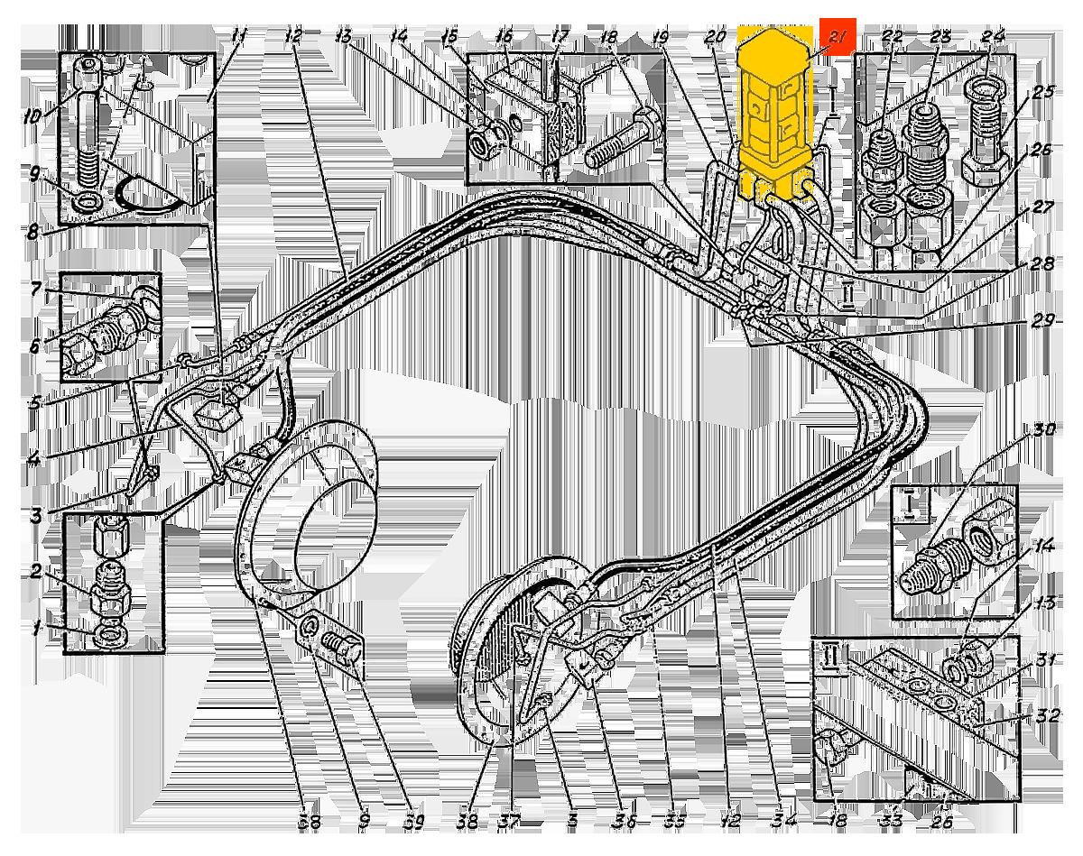 Коллектор центральный У4760.08.000