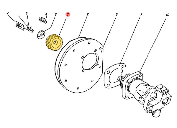 Шестерня Э4.11.08.025