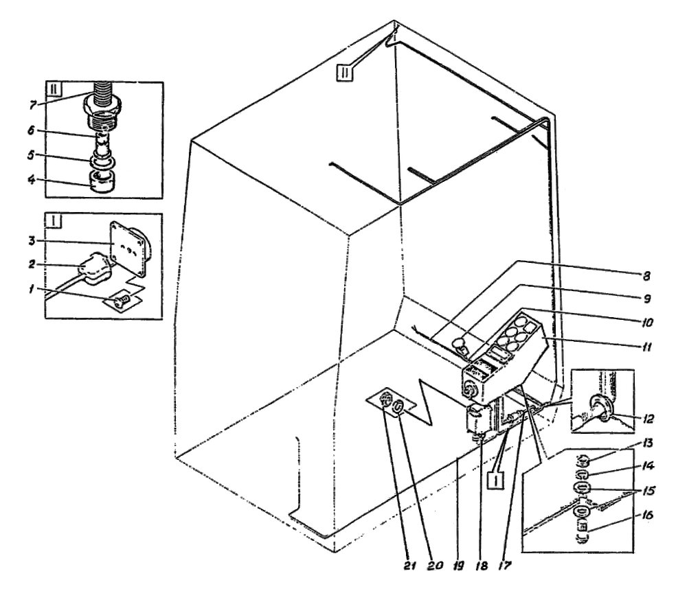 Электрооборудование кабины Э4.12.14.000сб