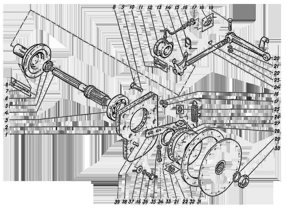 Муфта сцепления ЭО-5122.11.12.000-2сб
