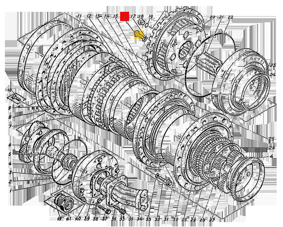 Болт Э4.01.17.041