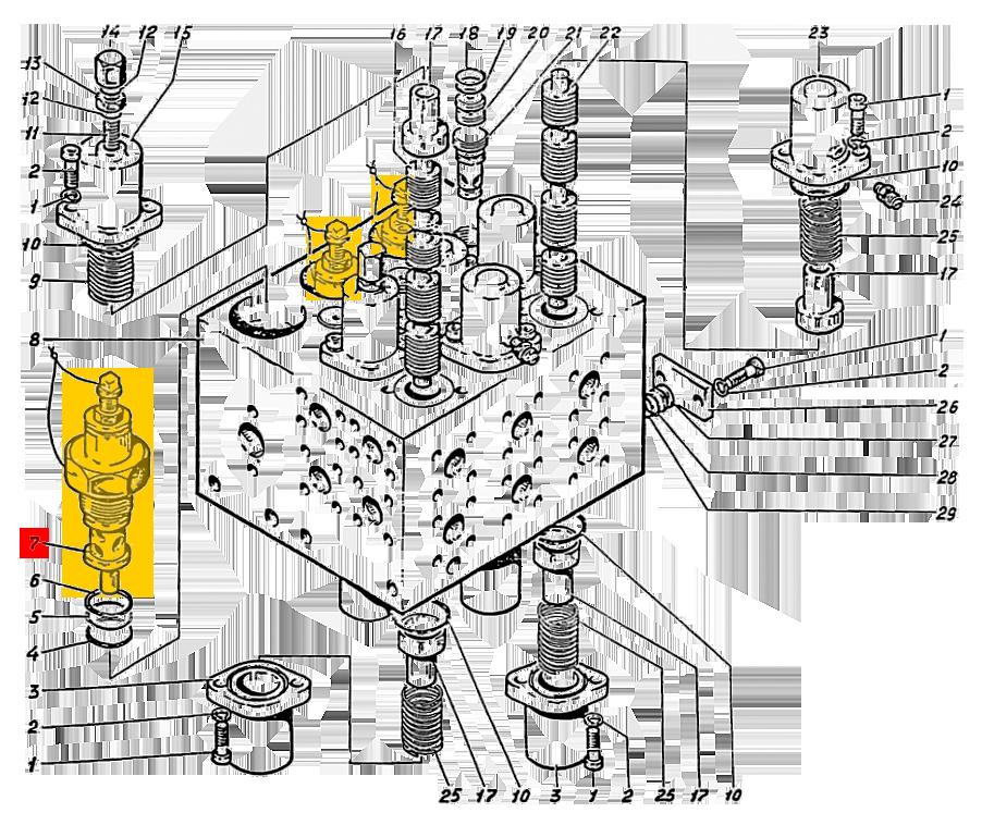 Клапан предохранительный 520.20.10А