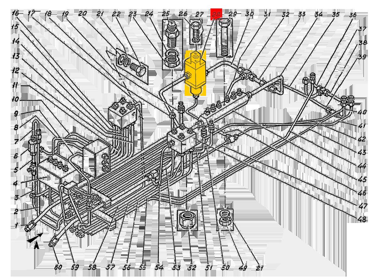 Золотник сливной ЭО-5221.04.17.200сб