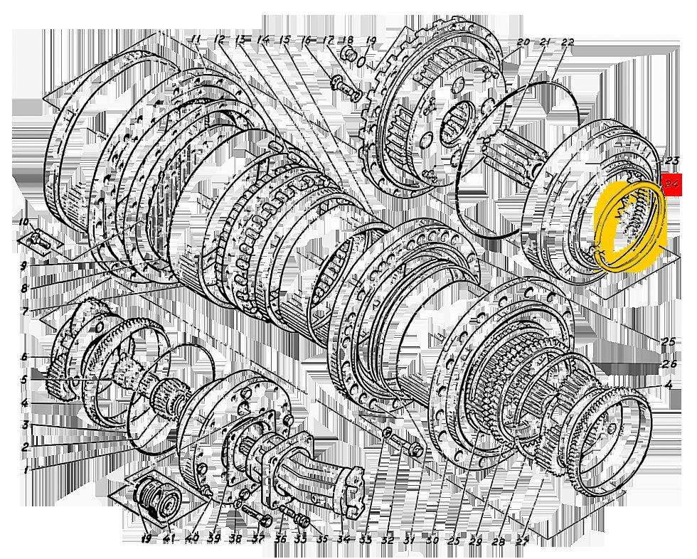 Кольцо пружинное Э4.01.17.025