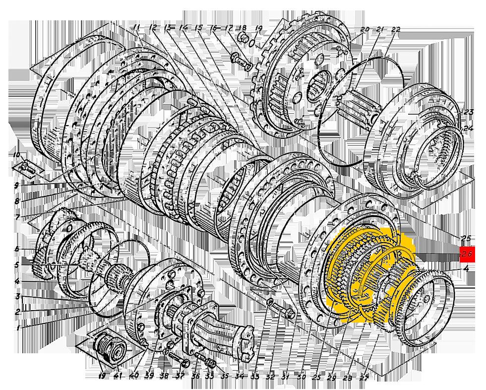 Кольцо пружинное Э4.01.17.026