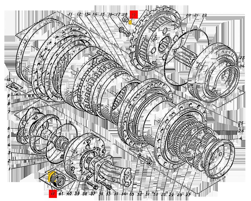Кольцо уплотнительное 520.15.004-12