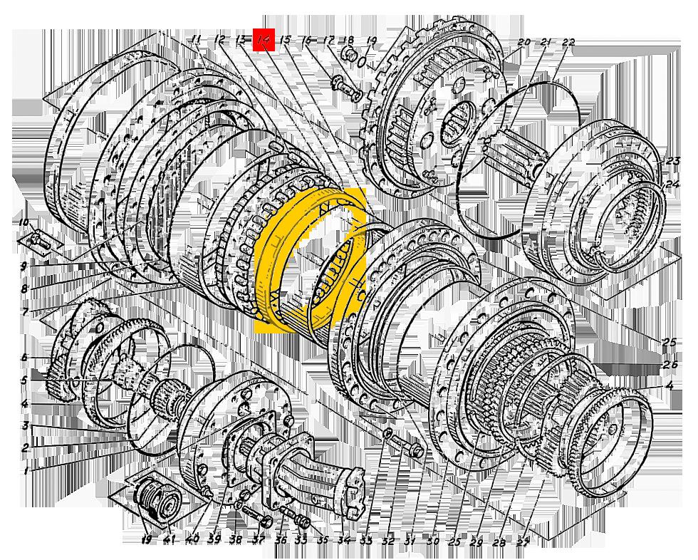 Кольцо Э4.01.17.021