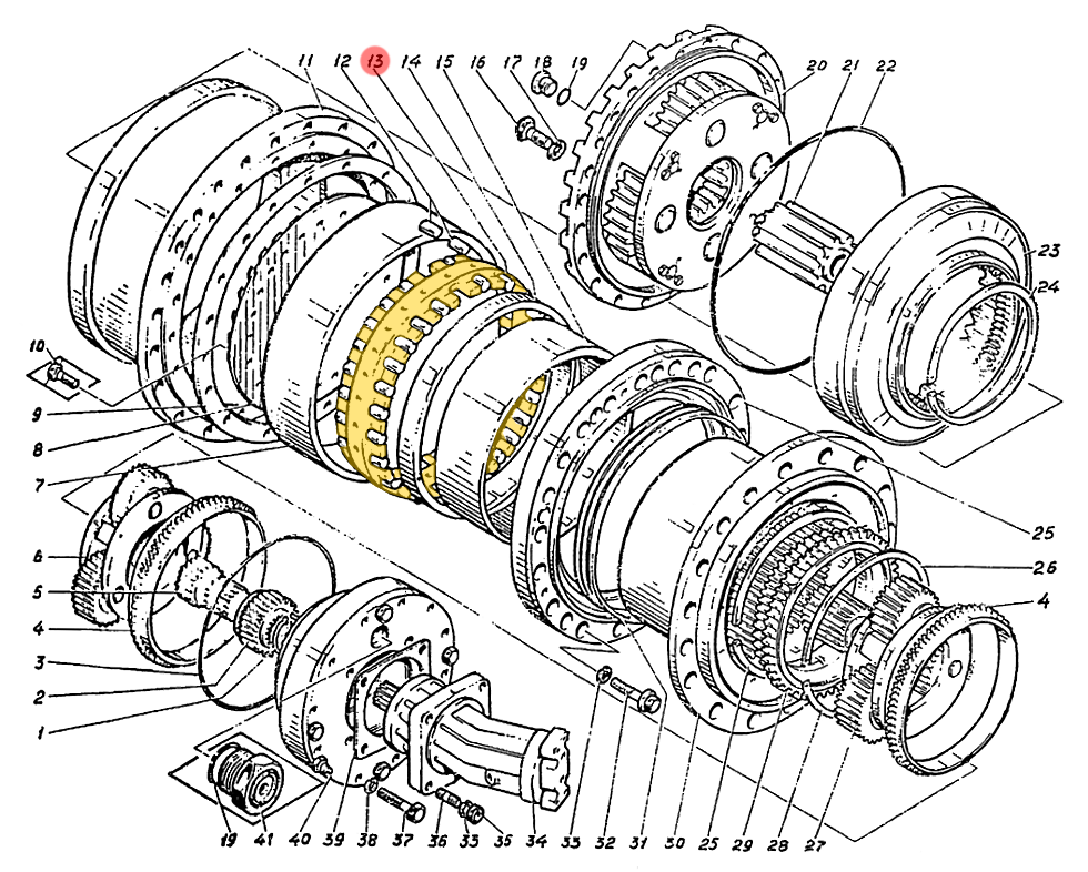 Сепаратор Э4.01.17.022